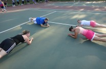 It's a Plank Off!
