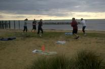 Beach Warmups